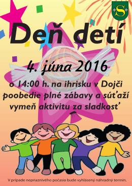 MDD - plagát 04.06.2016