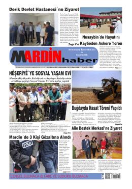 04 Haziran 2016 - mardinhabergazetesi.com
