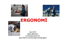 ergonomi - Personel Web Sistemi