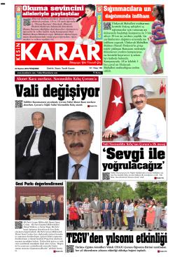 02 Haziran 2016 - Kesin Karar Gazetesi