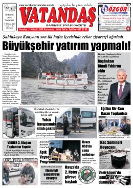 28 Mayıs - Vatandaş Gazetesi