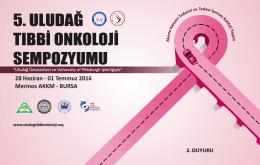 5. Uludağ Tıbbi Onkoloji Sempozyumu