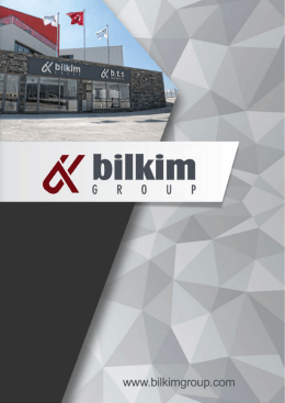 katalog - Bilkim Group