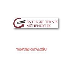 E-Katalog - Entegre Teknik