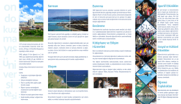 omü tanıtım broşürü 2016 - Ondokuz Mayıs Üniversitesi