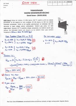 GenelSınav cevapları