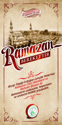 berekettir - Gaziosmanpaşa Belediyesi