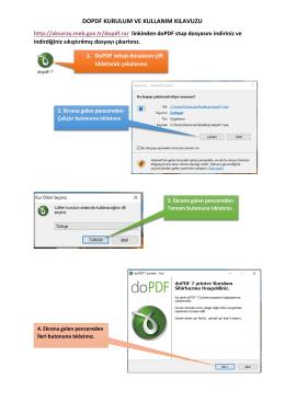 PDF Dönüştüme Kılavuzu - aksaray il millî eğitim müdürlüğü