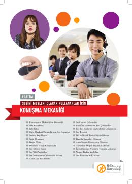 Konuşma Mekaniği (Mesleki Ses Eğitimi)