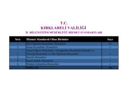 il millî eğitim müdürlüğü temel eğitim