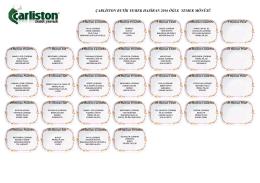 Bu Ay Menümüz - Carliston Butik Yemek