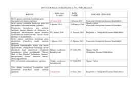 2008 yılı devlet bursluluk işlemleri iş takvimi çizelgesi