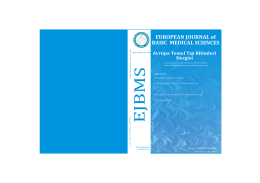 Kapak 2015-2.cdr - European Journal of Basic Medical Sciences