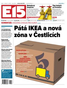 Pátá IKEA a nová zóna v Čestlicích