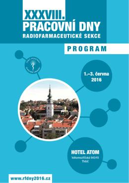 finální program - Česká společnost nukleární medicíny