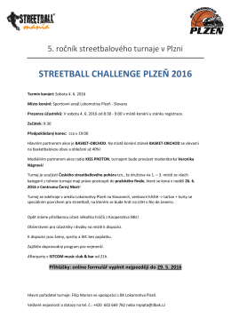 streetball challenge plzeň 2016 - Basketbal