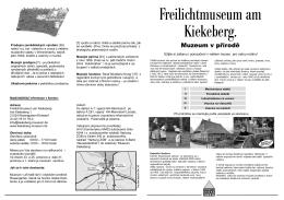 Muzeum v přírodě - Freilichtmuseum am Kiekeberg