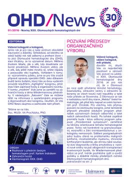 Noviny OHD 2016 č. 1 - LF
