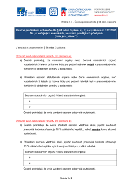 Příloha ZD 5_Čestné prohlášení dle § 68 odst. 3 zákona (vzor)