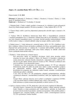 3. 12. 2012 (dpf) - Masarykův ústav a Archiv AV ČR, v. v. i.