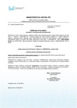 VVMÖLLMANN elektronicky  - Ministerstvo vnitra České republiky