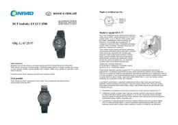překlad 672557- náramkové hodinky Eurochron 6500