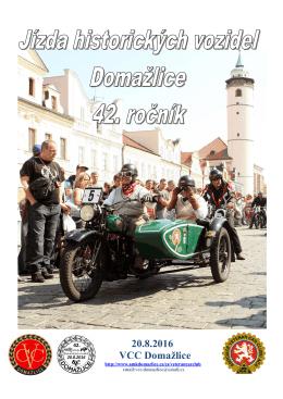 ZDE - Veteran Car Club České Budějovice