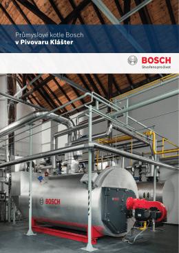 News Průmyslové kotle Bosch v Pivovaru Klášter
