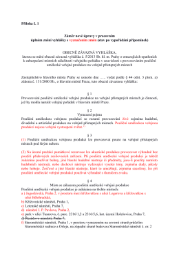 návrh vyhlášky