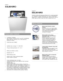 ESL8510RO - Electrolux