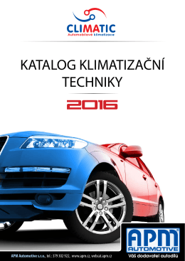 Katalog ke stažení - APM Automotive sro
