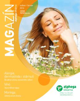 ALPHEGA magazín květen