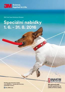 3M - speciální nabídky platné do 31.8.2016