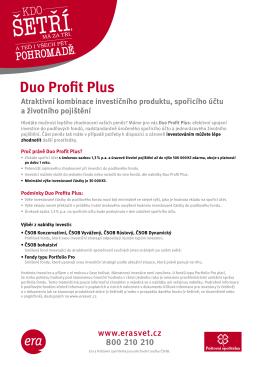 Duo Profit Plus