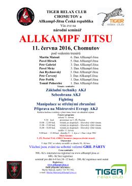 propozice - Allkampf