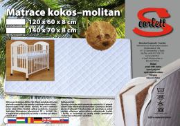 Matrace kokos–molitan