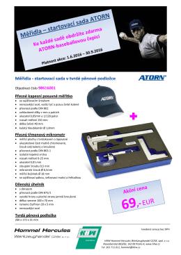 Měřidla - startovací sada - Hommel Hercules Werkzeughandel