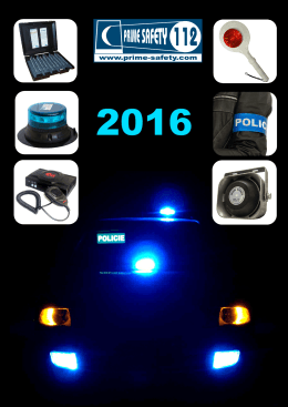 katalog 2016 - Prime Safety