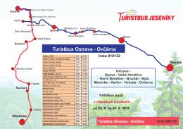 mapa - ARRIVA MORAVA as