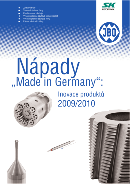 Nápady Made in Germany