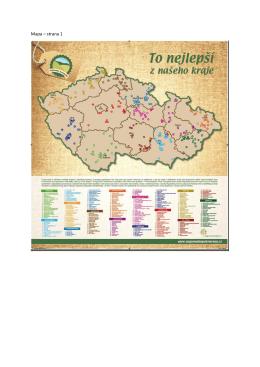Mapa – strana 1