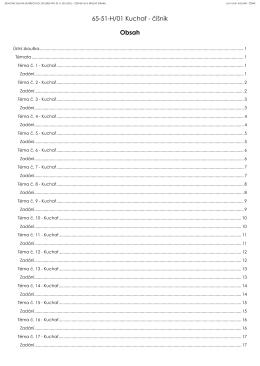 Jednotné zadání závěrečných zkoušek pro šk. r. 2015/2016