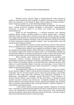 minimalistyczny ogrom kosmosu - przeglad.teatrlalek.wroclaw.pl