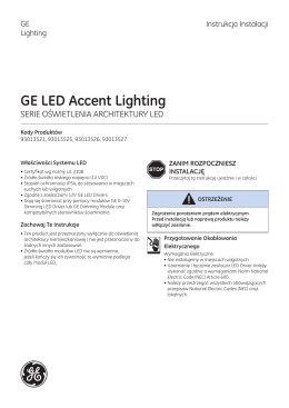 GE LED Accent Lighting