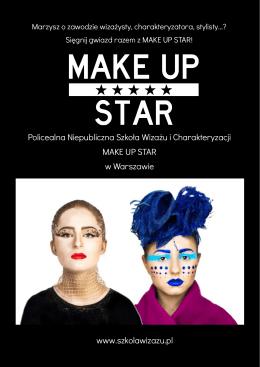 Katalog szkoły - Szkoła wizażu i charakteryzacji MAKE UP STAR