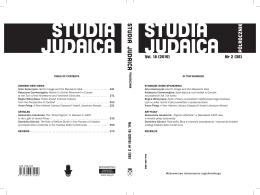 SJ 2015 nr 2 - Studia Judaica