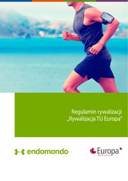 """Regulamin rywalizacji """"Rywalizacja TU Europa"""""""