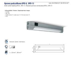 Oprawa podszafkowa OPD-8, OPD-13
