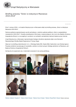pobierz stronę jako plik pdf - Urząd Statystyczny w Warszawie