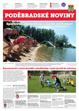 noviny PDF 26.05.16 Poděbradské noviny, ročník 25, Číslo 11